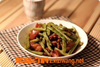 果蔬百科豆角炖肉怎么做